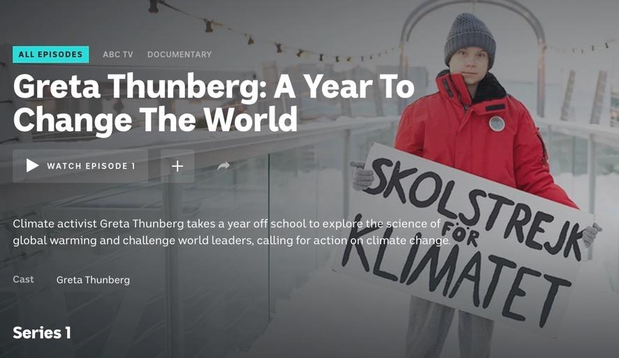 Greta Thunberg: A Year to Change The World